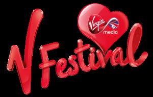 v festival logo